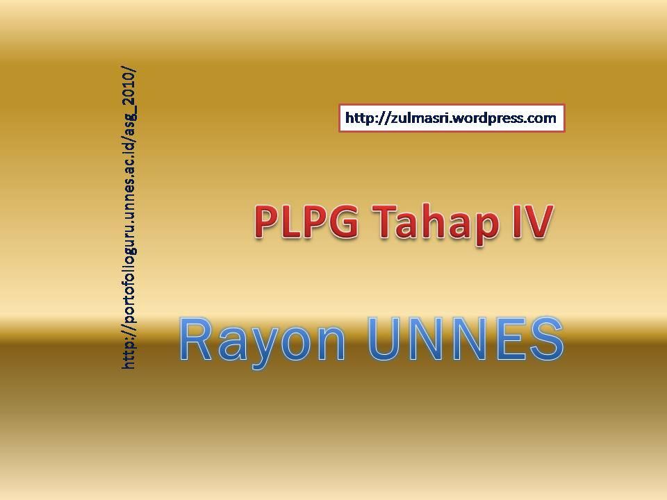 960 × 720 in Jadwal dan Peserta PLPG Tahap IV Pola Blok Rayon UNNES
